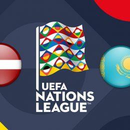UEFA Nations League Latvia vs Kazakhstan
