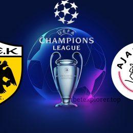 AEK vs Ajax Champions League