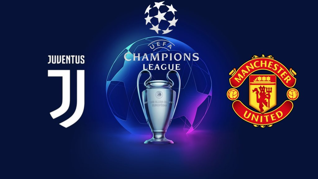 Juventus Turin vs Manchester United Champions League