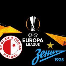 Slavia Prague vs Zenit Europa League